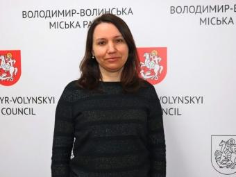 У Володимирі новим заступником начальника управління соціальної політики стане Алла Кузьмич