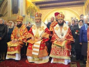 Настоятель УПЦ митрополит Онуфрій відвідав Зимненський монастир