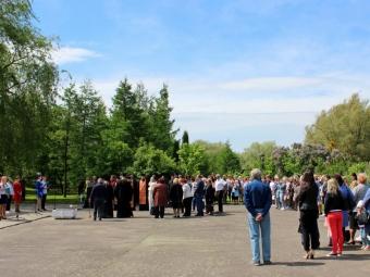 У Володимирі відбувся урочистий захід з нагоди 160-ої річниці з дня перепоховання Тараса Шевченка