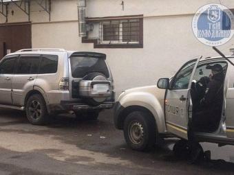 У Володимирі на водія сірого Mitsubishi знову склали два протоколи