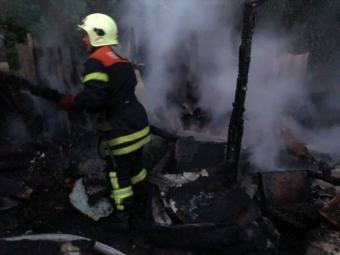 В Оваднівській громаді на пасіці трапилась пожежа