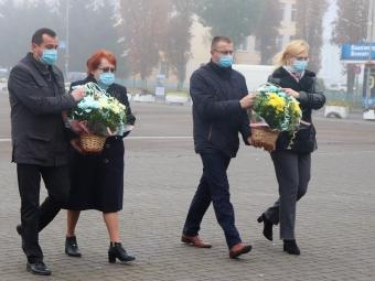 У Володимирі-Волинському вшанували пам'ять загиблих за визволення України від фашистських загарбників