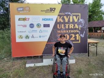 Володимирчанин подолав київський ультрамарафон