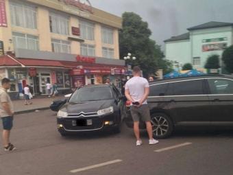 На перехресті у Володимирі трапилась аварія