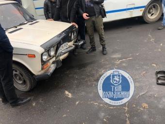 У Володимирі на автостанції трапилась ДТП