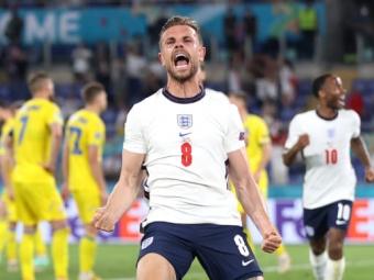 Українська збірна поступилася Англії у чвертьфіналі Євро-2020 з рахунком 0:4