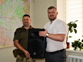 Народний депутат придбав музичне обладнання для потреб 1-го механізованого батальйону 14 бригади імені Князя Романа Великого