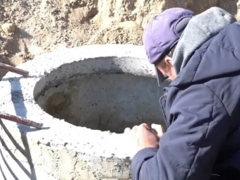 На вулиці Володимира Великого у Володимирі проклали новий водогін