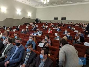 У Володимирі-Волинському розпочалася перша сесія новообраної міської ради