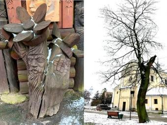 У Володимирі пропонують замість зрізаних дерев у сквері Дверницького встановити скульптури історичних персонажів