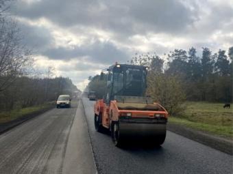 Розпочали ремонт траси, яка сполучає Львівську та Волинську області