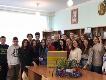 Володимирські школярі увійшли у 20-ку найактивніших закладів в рамках проєкту StudBiz