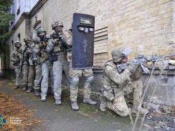 У Володимирі СБУ провела антитерористичне тренування