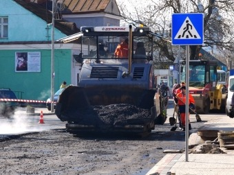 У Володимирі 23 квітня планують завершити вкладання асфальту на вулиці Сагайдачного