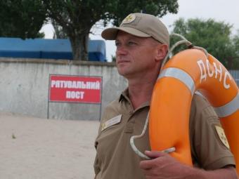 На пляжі у Володимирі може з'явитися рятувальний пост