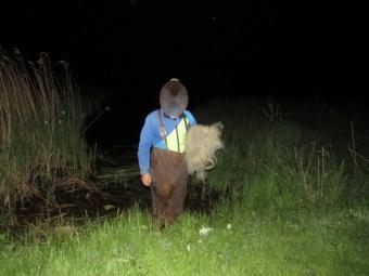 У Володимир-Волинському районі виявили чоловіка, який ловив рибу забороненим сітним знаряддям