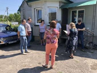 У Володимирі обстежили житлові будинки, які постраждали від негоди
