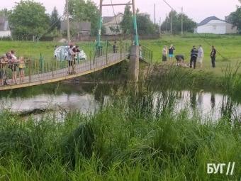У Володимирі на річці втопився чоловік