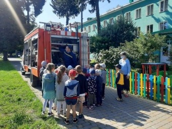 У Володимирі рятувальники провели акцію «Запобігти. Врятувати. Допомогти» для дошкільнят