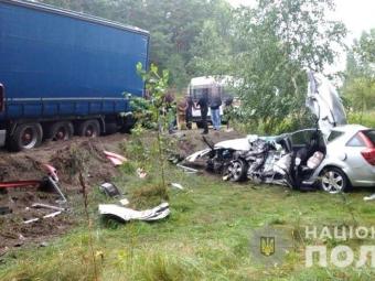 Мешканець Володимира загинув у ДТП на Рівненщині