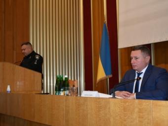 Голова ОДА Юрій Погуляйко взяв участь у засіданні колегії головного управління Національної поліції