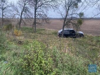 Біля Володимира у кювет злетіло авто, водій виявився п'яним