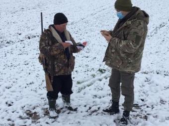 На Волині праівники екоінспекції ловили порушників полювання