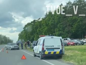 Біля Володимира два авто потрапили в ДТП