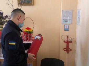 У Володимирі рятувальники провели перевірку щодо дотримання правил пожежної безпеки