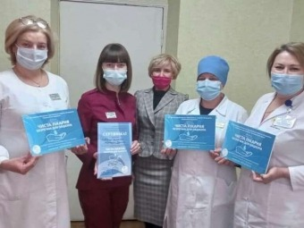 Володимир-Волинське ТМО здобуло звання «Чиста лікарня, безпечна для пацієнта»