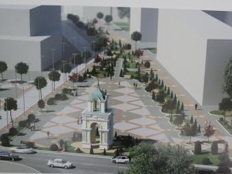 Оголосять новий конкурс на проект реконструкції площі Героїв у Володимирі