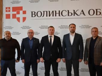 Представили нового голову Володимир-Волинської РДА