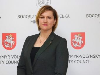 У Володимирі новим заступником начальника управління ЦНАПу стане Юлія Крижановська