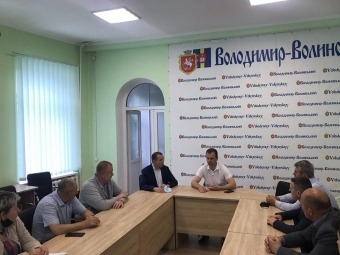 У Володимирі розпочав роботу новий структурний підрозділ – управління інфраструктури