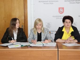 У Володимир-Волинській міській раді відбувся відеоселектор щодо реорганізації терцентру