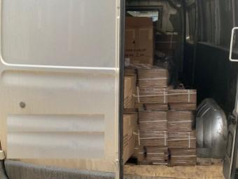 На «Ягодині» під час огляду машини із вантажем виявили незадекларований товар