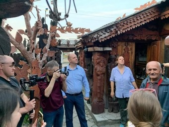 Команда туристичного промотуру Via Regia Ukraine побувала у Володимирі