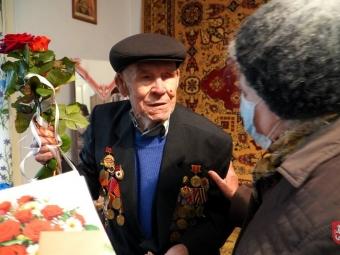 З 95-літнім ювілеєм привітали жителя Володимира-Волинського