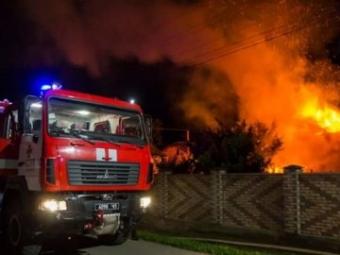 На Волині вночі горіли два житлові будинки