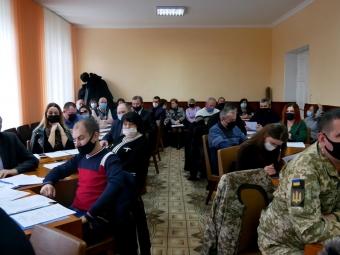 У Володимир-Волинській районній раді створили п'ять постійних депутатських комісій та проголосували за їхніх голів