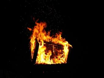 У Лудині жінка підпалила відділення пошти через ревнощі
