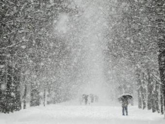 Волинь накриє рясний снігопад