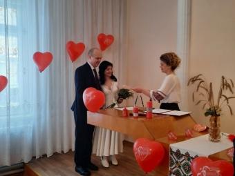У День закоханих у Володимирі одружилися дві пари