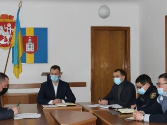 У Володимирі відбулося засідання комісії з питань ТЕБ і НС