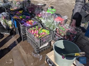 У Володимирі працював квітковий ярмарок
