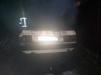 У Володимирі загорівся автомобіль
