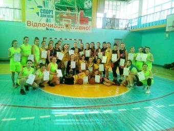 Володимирчанки посіли друге місце на спортивних іграх школярів Волині з баскетболу серед дівчат