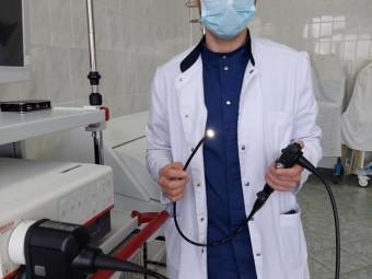 У Володимир-Волинському ТМО функціонує відеобронхоскоп нового покоління