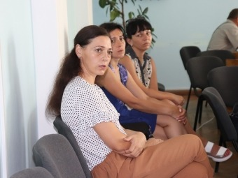 Міський голова Володимира провів зустріч із вдовами загиблих бійців