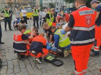 Бігуна, який помер у Львові, намагалися реанімувати протягом години